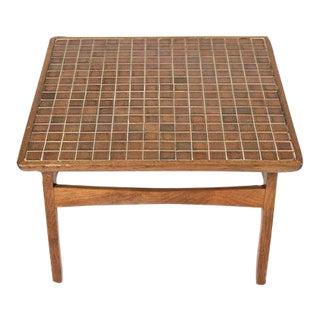 Vintage Mosaic Tile Table
