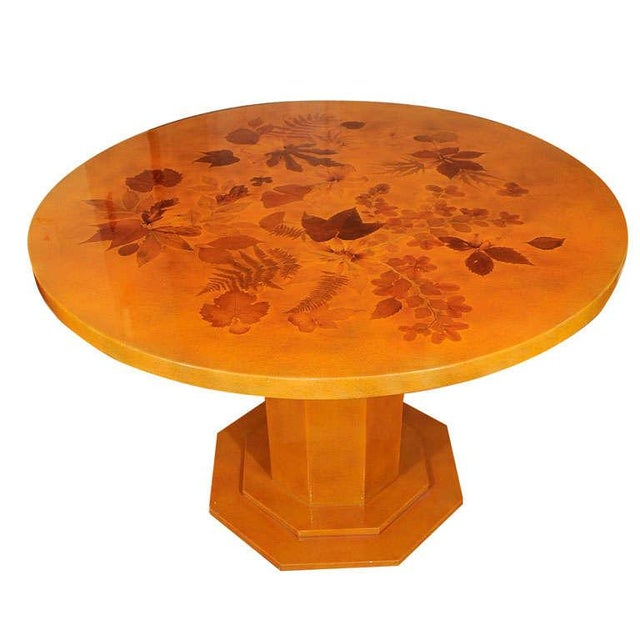 Lacquered Dining Table by Muriel De Kersaintg - Image 1 of 7