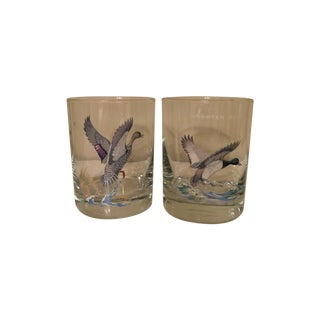 Duck Tumbler Glasses - Pair