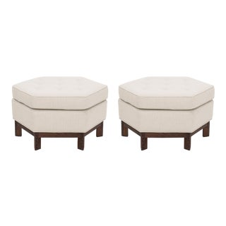 Pair of Frank Lloyd Wright Ottomans