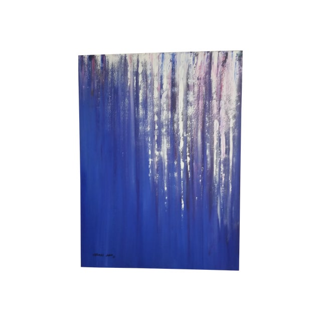 Image of Acrylic Original Painting - Waterfall