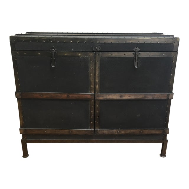 Image of Dry Bar Trunk Cabinet