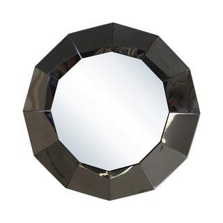 C. Jere Mid-Century Dodecagon Chrome Mirror
