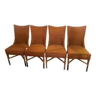 Vintage Rattan Chairs - Set of 4