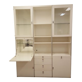 1978 White Avanti Wall Unit by DUX of Sweden
