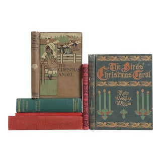 A Vintage Christmas in Red & Green - Set of 6
