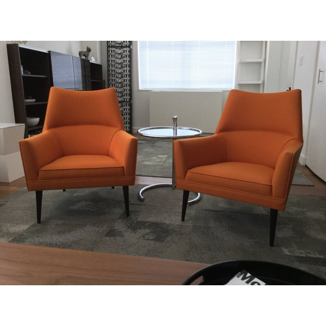 Paul McCobb Orange Squirm Chairs - a Pair - Image 5 of 5