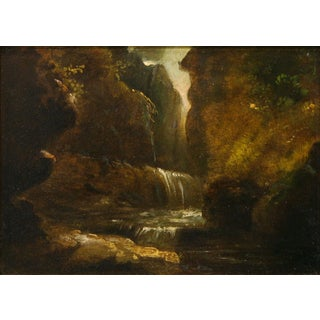 Alfred Jacob Miller (1810-1874) - Falls in the Mountains