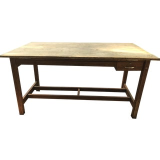 Vintage Architects Drafting Table