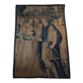 17th Century Flemish Tapestry Fragment