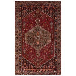 "Hamadan Vintage Persian Rug, 4'6"" x 7'9"""