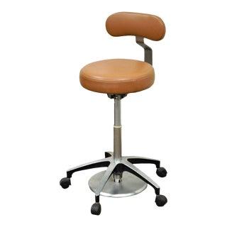 Vintage Mid-Century Industrial Modern Adjustable Dental Dentist Chair Stool Seat