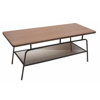 Arthur Umanoff Iron Coffee Table