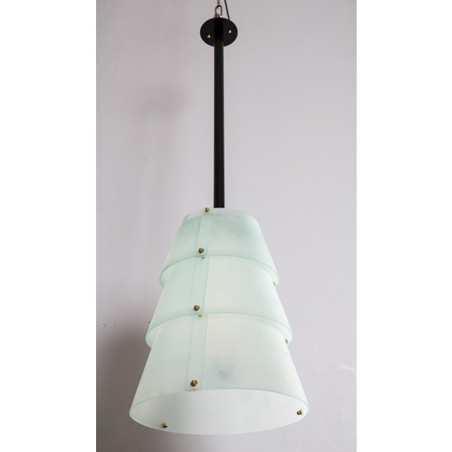 Image of French Modernist Lucite Lanterns- A Pair