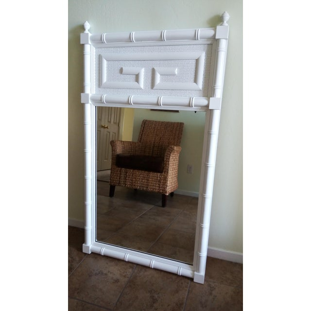 Dixie Vintage Chinoiserie Lacquered Mirror - Image 2 of 5