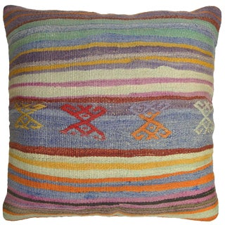 Vintage Kilim Pillow by Rug & Relic