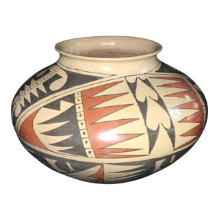 Socorro Sandoval Art Pottery Vase