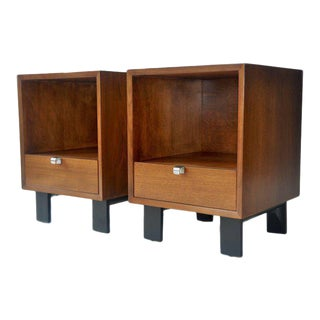 Pair of George Nelson Nightstands