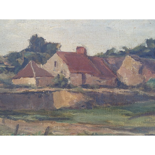 England Cottage On the River Avon Painting - Image 4 of 6