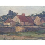 Image of England Cottage On the River Avon Painting