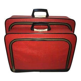 Vintage Supre-Macy Luggage - Set of 2
