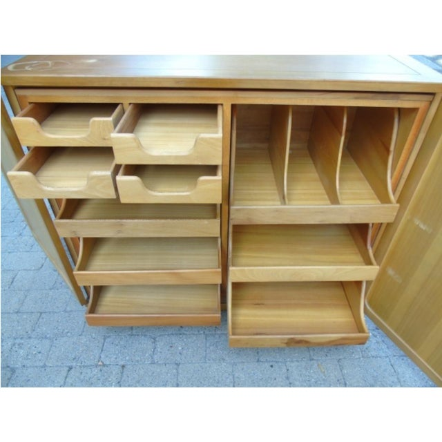 Wooden Storage Cabinet - Image 3 of 5
