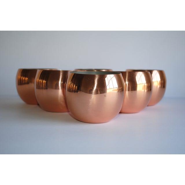 Image of Vintage Copper Tumblers - Set of 6