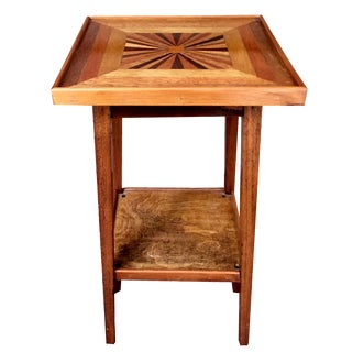 Antique Parquetry Table