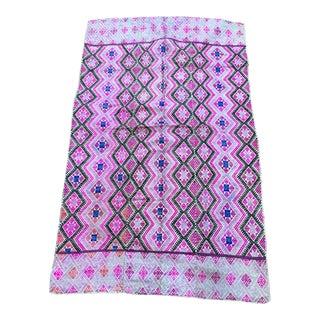 Antique Chinese Silk Wedding Quilt