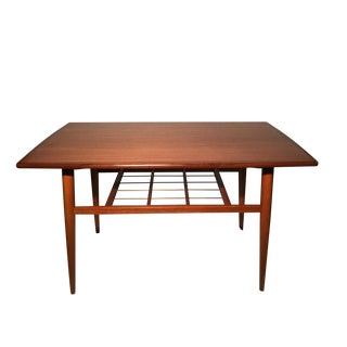 Swedish Modern Teak Coffee Table