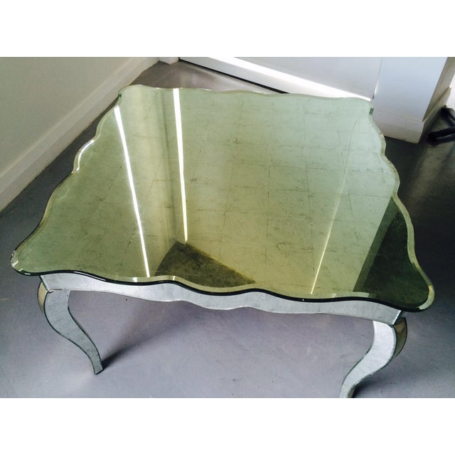 Drexel Mirrored Coffee Table - Image 2 of 10