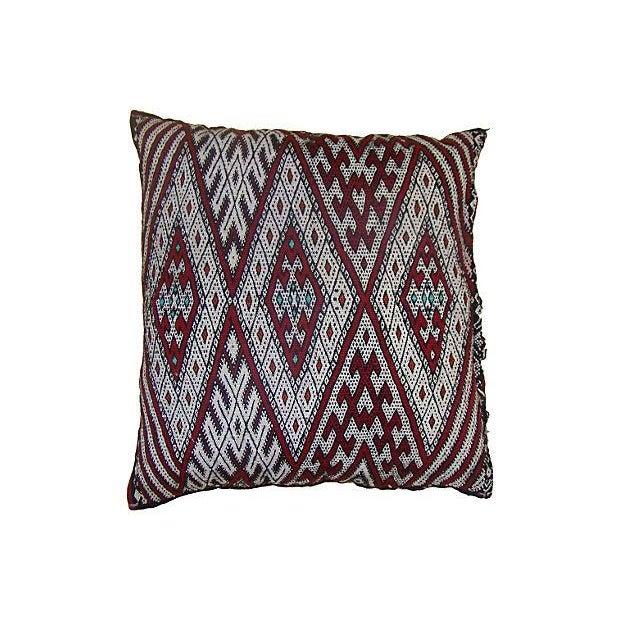 Image of Moroccan Sham WIth Diamond Design