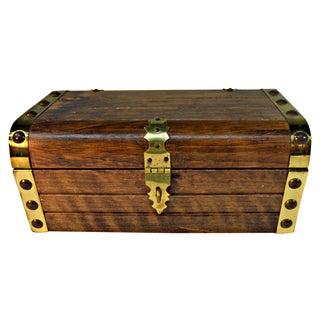 Japanese Wooden Jewelry Box
