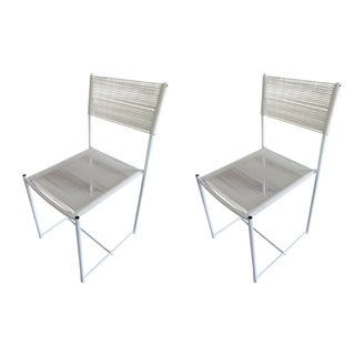 Alias Spaghetti Chairs, Giandomenico Italy - Pair