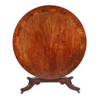 William IV Mahogany Round Dining Table