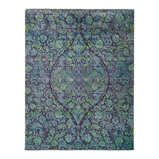 """Suzani Hand Knotted Area Rug - 8' 0"""" X 10' 3"""""""