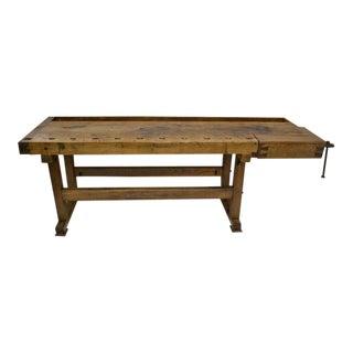 Oak and Pine Carpenter's Workbench