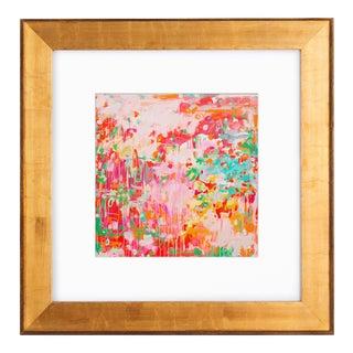 """Blarney"" Abstract Framed Art Print"