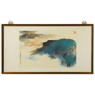 Autumn Landscape by Zhang Daqian