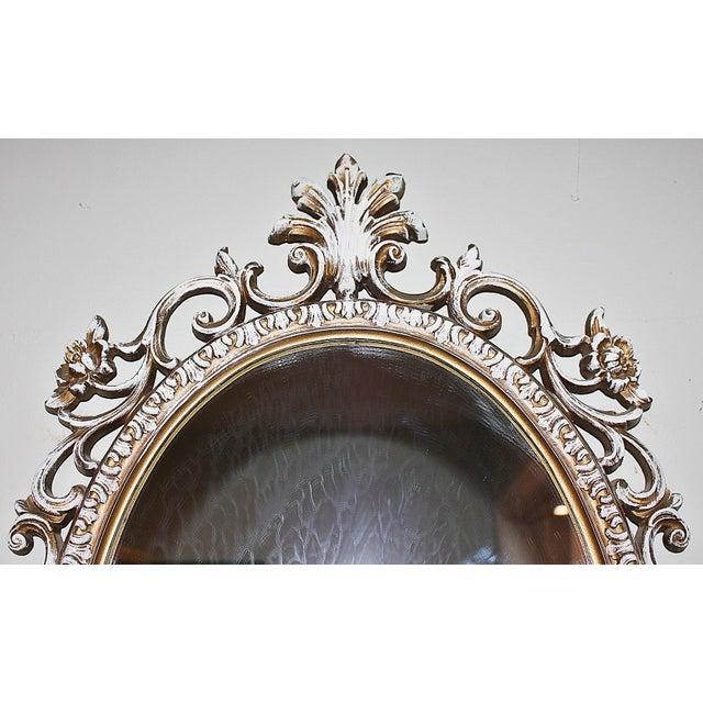 Oval Rococo Mirror - Image 4 of 5