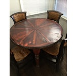 Image of Vintage Style Wooden Dining Set