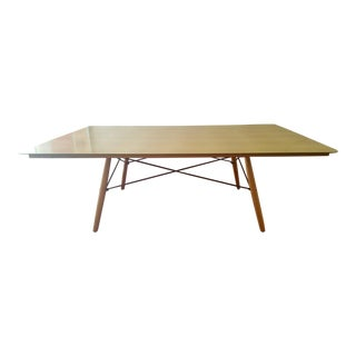 Eames for Herman Miller Gold Birch Wood Anniversary Table