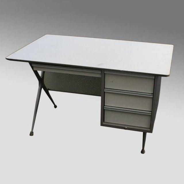 Raymond Loewy Brunswick 4 Drawer Office Desk - Image 3 of 8