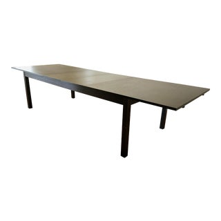 Crate & Barrel Contemporary Dining Table