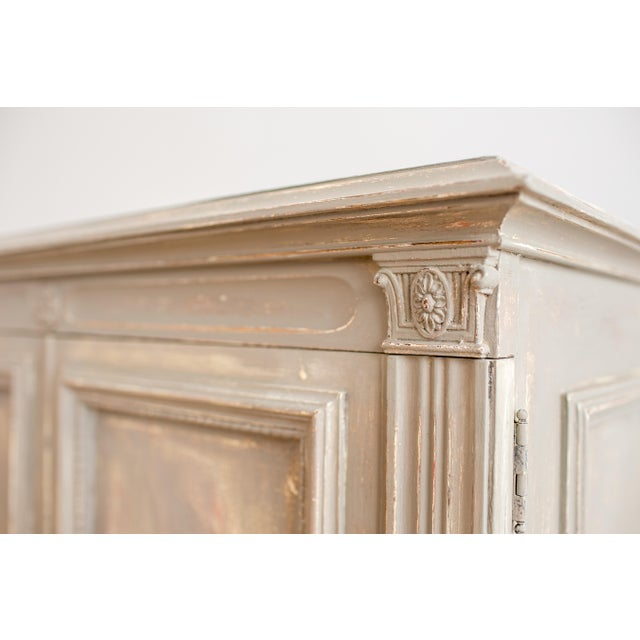 Image of 1920s Distressed Painted Armoire