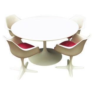 Mid Century Saarinen Style Dining Set