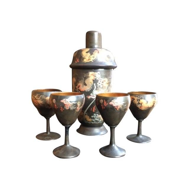 Chinoiserie Barware Set - Image 1 of 6