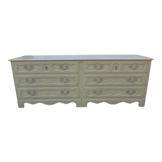 Baker Furniture Side-By-Side Double Chest of Drawers