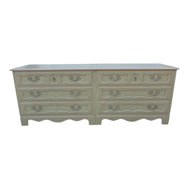 Baker Furniture Side-By-Side Double Chest of Drawers - Image 1 of 11