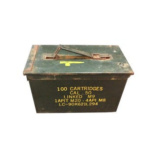 Miltary Ammunition Box